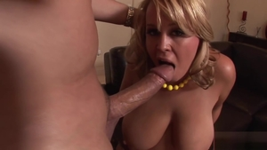 Brandy Talore is big boobs blonde haired