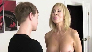 Young mature Erica Lauren lusts hard fucking in HD