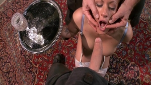 Brutal nailing together with Owen Gray starring Holly Heart