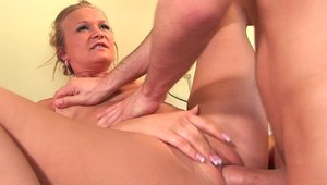 Ramming hard with MILF Katie Gold and James Deen