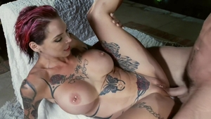 Pornstar Anna Bell & large tits Anna Bell Peaks female orgasm