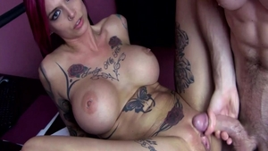 Plowing hard together with big boobs stepmom Anna Bell
