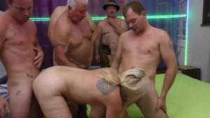 Slamming hard starring chubby european blonde babe