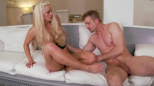 Holly Heart sucking dick video