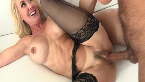 Rough sucking dick along with large boobs mature Brandi Love