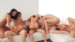 Shaved Adriana Chechik need threesome