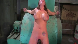Big butt couple Trina Michaels feels the need for BDSM