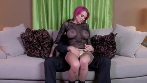 Sexy redhead feels in need of rough sex