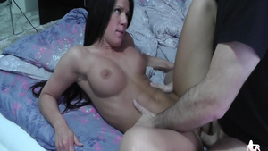 Sexy amateur Athina Love feels like nailed rough