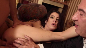 Cumshot with Cathy Heaven and Nick Lang