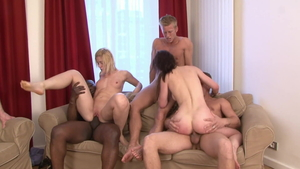 Emma Diamond alongside Cinta Mitchell threesome