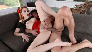 Hard rough sex starring very sexy slut Amarna Miller