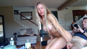 Huge boobs amateur POV pussy eating creampied HD