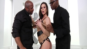 Gangbang scene along with lustful hard Kendra Lust