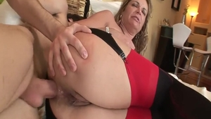Slamming hard together with young european MILF Kelly Leigh