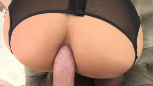 POV sex together with big ass blonde hair Phoenix Marie