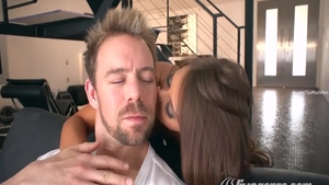 Squirts with thick Madison Ivy in company with Erik Everhard