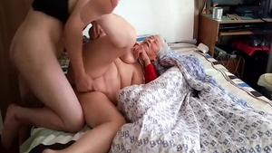 Homemade sex together with large tits asian babe