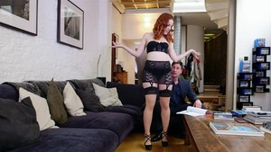 Redhead Amarna Miller has a thing for rough sex HD