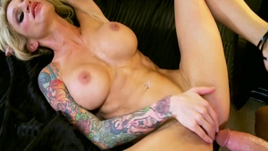 Very hot blonde hair Sarah Jessie raw got her pussy pounded