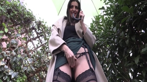 Classic big butt french amateur pussy fuck in lingerie
