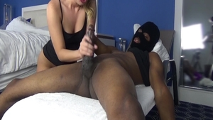 Passionate Harley Jade interracial sex dick sucking