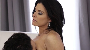 Indian brunette India Summer rough pussy licking