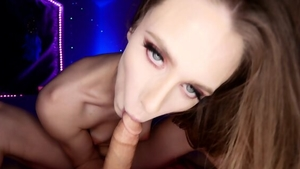 Sloppy fucking starring naughty girl