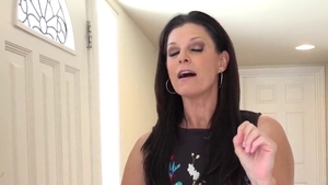 POV fingering along with shaved Muslim MILF India Summer HD