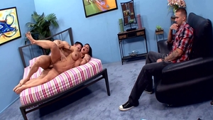 Plowing hard escorted by sexy american stepmom Jewels Jade