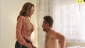 Big butt stepmom Richelle Ryan raw facial doggy fuck in HD
