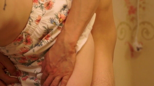 Young housewife lusts loud sex in HD