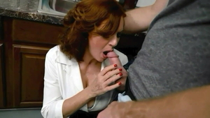 Andi James goes for cumshot