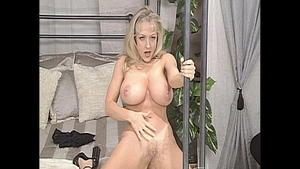 Hardcore sex alongside big tits mature