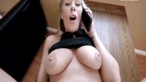 Getting a facial starring large boobs MILF