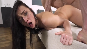 Katy Rose dick sucking scene
