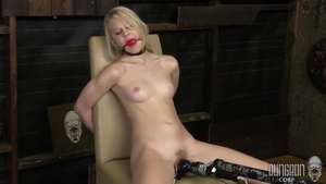 Blonde haired Lily Rader has a taste for BDSM HD
