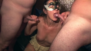 Group sex with sexy mature