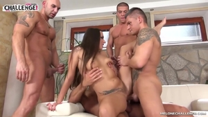 Inked MILF Mea Melone has a taste for creampied HD