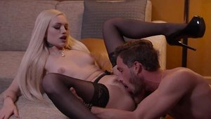 Alex Grey in the company of Lucas Frost handjob