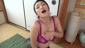 Nailed rough hairy japanese in sexy stockings