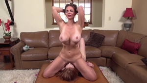 The best sex along with large boobs stepmom Mindi Mink