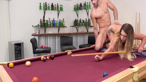 Glamour Gabbie Carter goes in for rough nailing