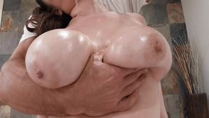 Doggy fucking sex tape starring natural raw Alex Chance