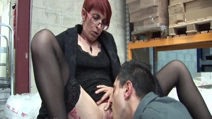 Short haired french chick really likes good fuck in HD