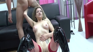 Sexy housewife romantic cum in her pussy penetration in HD