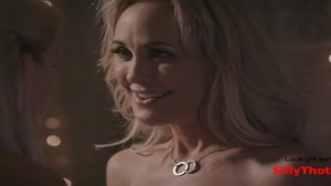 'SillyThots.com - Two horny blonde MILFs Bring Each Other To agonorgasmos'