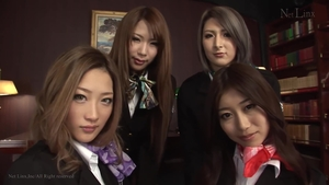 Big tits uncensored orgy sex with toys in the Tokyo HD
