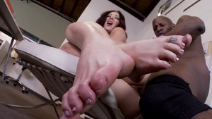 Amazing Jayden Jaymes interracial sex sex scene