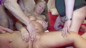 Cum swallow on Xmas large boobs german Rosella Extrem in HD